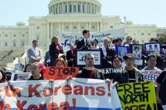 2006북한인권운동주간-워싱턴DC의사당 앞